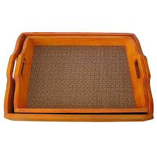 wooden serving platters solid decorative cedar wood serving trays set of 2 free today wooden serving platters