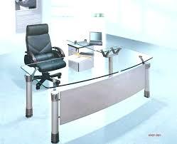 curved office desk. Curved Office Desk Design Gorgeous Glass Ideas Using Transparent D