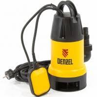 <b>Насос дренажный DENZEL DP900</b> - Насосы погружные ...