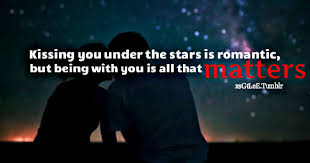 Huge Lovers Quotes Kiss Quotes Magnificent Love Under The Stars Quotes