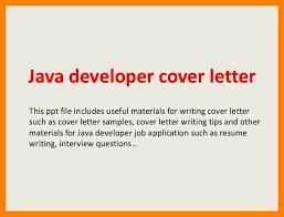 Gallery Of 10 Sample Cover Letter For Java Developer Sap Appeal