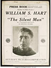 The Silent Man (Artcraft, 1917). Pressbook (Multiple Pages). | Lot #26290