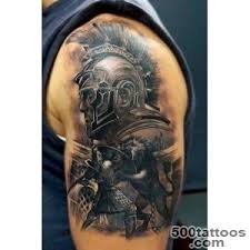 Gladiators Tattoo Designs Ideas Meanings Images