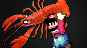 Mario Tickles a Red Lobster - YouTube