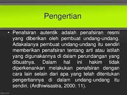 Pragmatik terkait dengan makna yang mendalam. Interpretasi Resmi Ppt Download