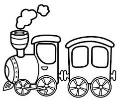 Website banner and landing page rail transport vector. Antique Steam Train Cartoon Coloring Sheet Online Train Coloring Pages Train Cartoon Coloring Pages