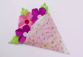 How To Make A Simple Paper Flower Bouquet Kids Crafts Small Paper Flower Bouquet Mashustic Com