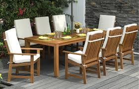 wooden patio set wood patio furniture plans a set of dinnig table with rectangle