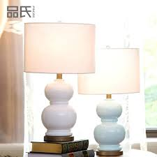 remote control table lamp remote control table lamps ceramic table lamps for bedroom bedside lamp gourd blue table lamp bulb for in led table lamps from
