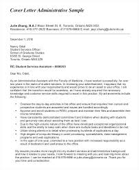 Office Assistant Cover Letters Cover Letter For Administrative