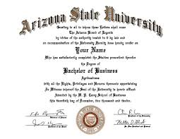 latest samples of fake diploma templates arizona state university