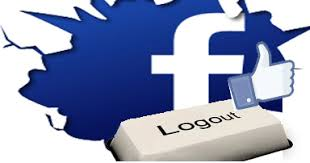 Image result for log out of facebook account