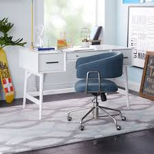 west elm office. Mid-Century Desk - White West Elm Office R