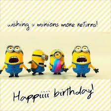 Minion Birthday Greetings Musings On The M49