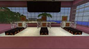 minecraft office ideas. A Typical Gym Treadmill - Using A 5/8 Snow Floor Allows The Redstone Lamp  Base To Be Visible, Thus Letting Furniture Pop Out From And Look Minecraft Office Ideas C