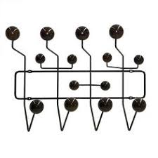 Eames Coat Rack Walnut Eames Style HangItAll Wall Hanger Multicolor Or Walnut White 63