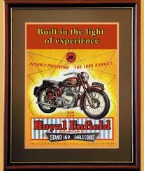 Advertising Posters Royal Enfield Meteor 700 Classic Motorcycle Advertising Posters