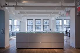 contemporary kitchen office nyc. The Design Of Ammirati\u0027s Advertising New York City Office Space Favors Restrained, Practical Spaces With Contemporary Kitchen Nyc ,