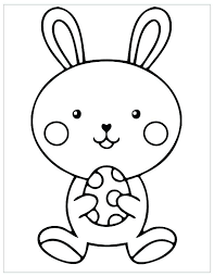 Printable Coloring Pages Easter Egg Free Ourwayofpassioncom
