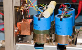 quad amplifier modified for general purpose lab amp ~ quad303 a2 input pot copper tape link to capacitor soakage