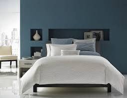 blue bedroom color schemes. View In Gallery Blue With A Hint Of Grey Along White Give The Bedroom Sophisticated Look Color Schemes