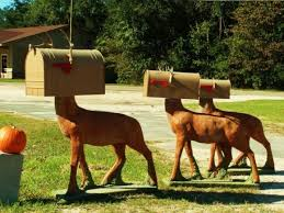 Creative mailbox ideas Funny Creative Mailbox With Animal Odd Stuff Magazine Creative Ideas For Mailbox Design Unusual Mailboxes