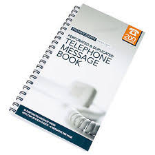 telephone message book telephone message pad office supplies stationery ebay