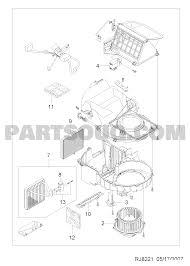 2 82210 air conditioner blower evaperator 8221