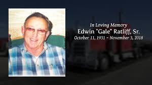 """Edwin """"Gale"""" Ratliff, Sr. - Tribute Video"""