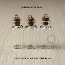 Decorative Pepper Bottles 100ml Excellent Small Glass Bottles Vials With Metal Hook Decorative 94