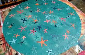 round area rug canvas floorcloth