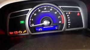 2005 Honda Civic Maintenance Required Light Reset Check Engine Light 2001 Honda Civic Low Voltage Light