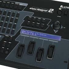 elation professional show designer 2cf dmx controller close up