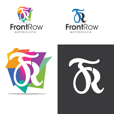 Front Row Design Elegant Playful It Company Logo Design For Front Row