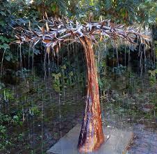 copper trees natural art for the garden magic tree copper fountain