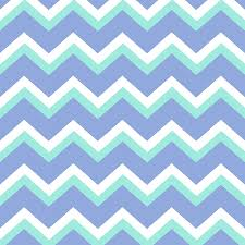 Cheveron Pattern Unique Blue Green Chevron Pattern Mixed Media By Christina Rollo