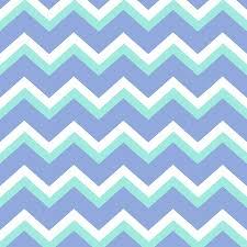 Cheveron Pattern Unique Blue Green Chevron Pattern Mixed Media By Christina Rollo