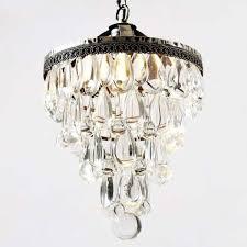 lighting surprising mini crystal chandeliers for bathroom