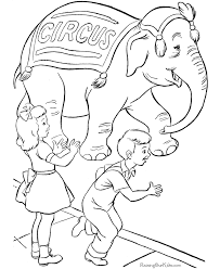 Small Picture Circus coloring pages
