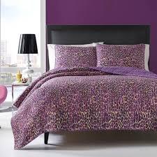 Leopard Bedroom Bedroom Contemporary Multi Leopard Cotton Quilt Set 100 Percent