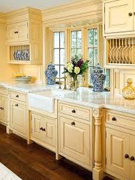 yellow country kitchens. Yellow Country Kitchens Colorful And White