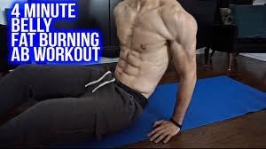4 minute ab workout to lose belly fat at home within 1 week agers men and women you