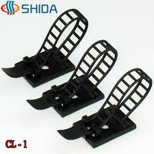 popular cable clips adhesive buy cheap cable clips adhesive lots 100pcs cl 1 white and black 3m adhesive plastic cable clips clamp for wire ties