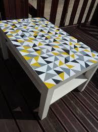 2. Graphic vinyl tabletop