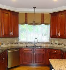Beautiful Kitchen Valances Impressive Cornice Curtain Ideas Kitchen Cabinet Cornice