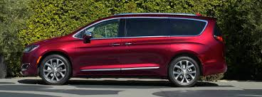 2017 Chrysler Pacifica Available Colour Options