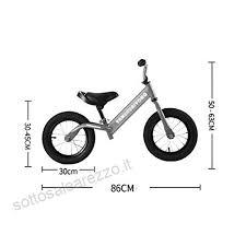 Bicicletta Senza Pedali Bici Per Bimbi 2 3 4 5 Anni Bici Da