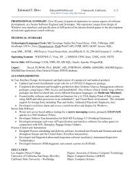 1 Or 2 Page Resume 3 Paragraph Format Free Resume Templates