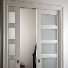 glass panel interior door photo 21