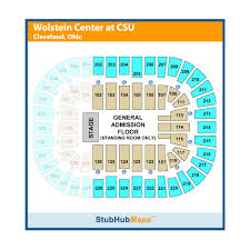 Wolstein Seating Chart Wolstein Center Cleveland State University Events And